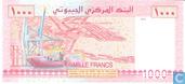 Bankbiljetten - Banque Centrale de Djibouti - Djibouti 1000 Francs