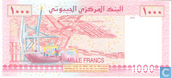 Banknotes - Banque Centrale de Djibouti - Djibouti francs 1000