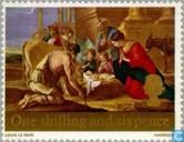 Postage Stamps - Great Britain [GBR] - Christmas-Paintings