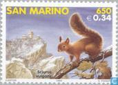 Timbres-poste - Saint-Marin - Mammifères