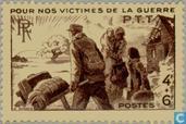 Kriegsgeschädigte Postbeamte