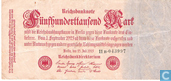 Banknotes - Reichsbanknote - Germany 500000 Mark