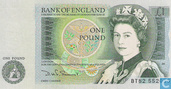 Banknotes - Bank of England - United Kingdom 1 Pound