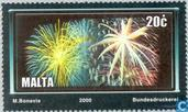 Timbres-poste - Malte - Fireworks