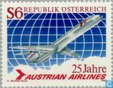 Austrian Airlines 25 years