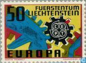 Timbres-poste - Liechtenstein - Europe – Rouage