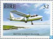 Timbres-poste - Irlande - L'aviation civile