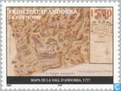 Postage Stamps - Andorra - French - Maps