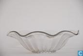 Glas / kristal - Kristalunie - Bambusa Fruitschaal blank