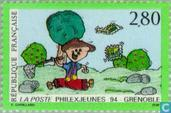 Youth Philately exhibition 'PHILEXJEUNES '94'