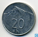Münzen - Slowakei - Slowakei 20 Halierov 1997