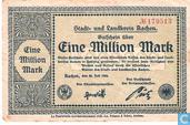 Aachen 1 Miljoen Mark 1923