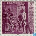 Postage Stamps - Luxembourg - Peasant uprising 150 years