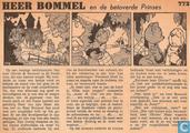 Strips - Bommel en Tom Poes - Heer Bommel en de betoverde Prinses
