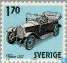 Postage Stamps - Sweden [SWE] - 170 blue / black