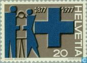 Postage Stamps - Switzerland [CHE] - Blue Cross 100 years