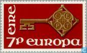 Postage Stamps - Ireland - Europe – Key