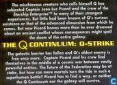 Books - Star Trek The Next Generation - The Q Continuum 3: Q-Strike