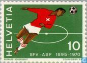 Association suisse de football 75 années