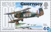 Timbres-poste - Guernesey - 1940 Bataille de Brittain