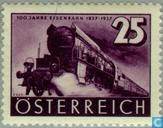 Postage Stamps - Austria [AUT] - Railways 100 years
