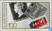 Timbres-poste - Allemagne, République fédérale [DEU] - 150 ans du premier tmbre