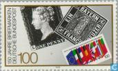 Postzegels - Duitsland, Bondsrepubliek [DEU] - 150 jaar postzegeljubileum
