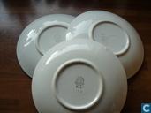 Céramique - Décor rustique - Boerenbont schotels voor soepkommen