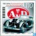 Postage Stamps - Germany, Federal Republic [DEU] - Automobile Club 1899-1999