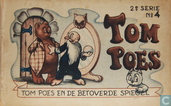 Strips - Bommel en Tom Poes - Tom Poes en de betoverde spiegel