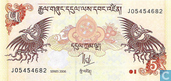 Banknoten  - Bhutan - 2006-2015 Issue - Bhutan 5 Ngultrum 2006