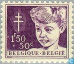 Timbres-poste - Belgique [BEL] - Tête d'enfant
