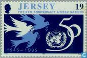 Timbres-poste - Jersey - UNO 50 années