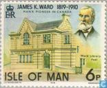 Briefmarken - Man - Ward, James Kewley