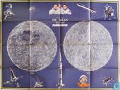 Strips - Robbedoes (tijdschrift) - Kaart van de Maan
