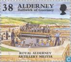 Postzegels - Alderney - Historische ontwikkeling