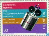 Postage Stamps - Switzerland [CHE] - Satellite Conference