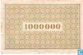 Bankbiljetten - Aachen - Stadt und Landkreis - Aachen 1 Miljoen Mark 1923
