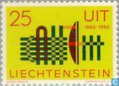 Postzegels - Liechtenstein - 100 jaar ITU