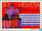 Postage Stamps - Switzerland [CHE] - Universal Postal Congress Lausanne