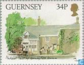 Timbres-poste - Guernesey - Musées