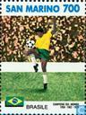 Postzegels - San Marino - WK Voetbal