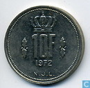 Coins - Luxembourg - Luxembourg 10 francs 1972