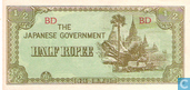Bankbiljetten - The Japanese Government - Birma ½ Rupee