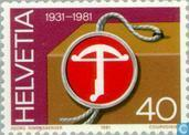 Swiss mark 50 years