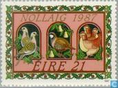 Postzegels - Ierland - Illustraties