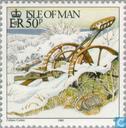 Briefmarken - Man - Winter Scenes