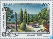 Briefmarken - Italien [ITA] - Gärten