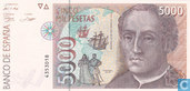 Spanje 5000 Pesetas