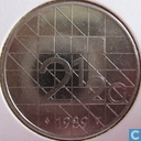 Coins - the Netherlands - Netherlands 2½ gulden 1989